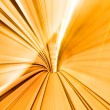 Abstract colorful metro tunnel blur — Stock Photo #15348297