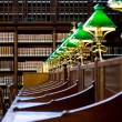 Stock Photo: Historical library