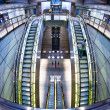 Futuristic metro station — Stock Photo