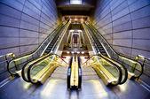 Futuristische moderne hall interieur — Stockfoto