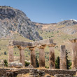 Ruins of Appollo temple, ancient Corinth, Greece — Stock Photo #28728141