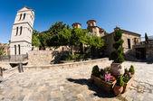 En el monasterio de meteora — Foto de Stock