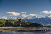 Mountains of Kaikoura, Nez Zealand — Stock Photo