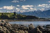 Mountains of Kaikoura, Nez Zealand — Stock Photo
