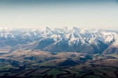 New zealand mountains in winter — Stock Photo