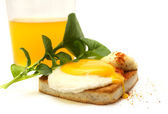 Egg toast — Stock Photo