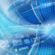 Abstract global technology background illustration — Stock Photo