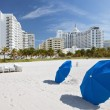 Stock Photo: Miami Beach, Florida, sunny summer day