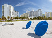 Miami Beach, Florida, sunny summer day — Stock Photo