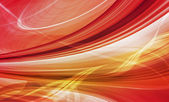 Abstract technology background of colorful curved shapes — Stock Photo