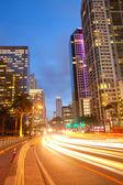 佛罗里达州迈阿密市,穿越市区的交通 — 图库照片