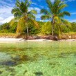 Summer at a tropical paradise in Florida Keys USA — Stock Photo #38920401