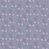 Seamless vector floral pattern — Stock Vector