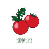 Вектор помидоры — Cтоковый вектор