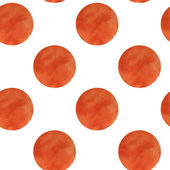 Watercolor rounds  pattern  — Stock Vector
