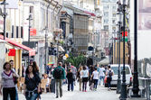 Old city Bucharest — Stock Photo