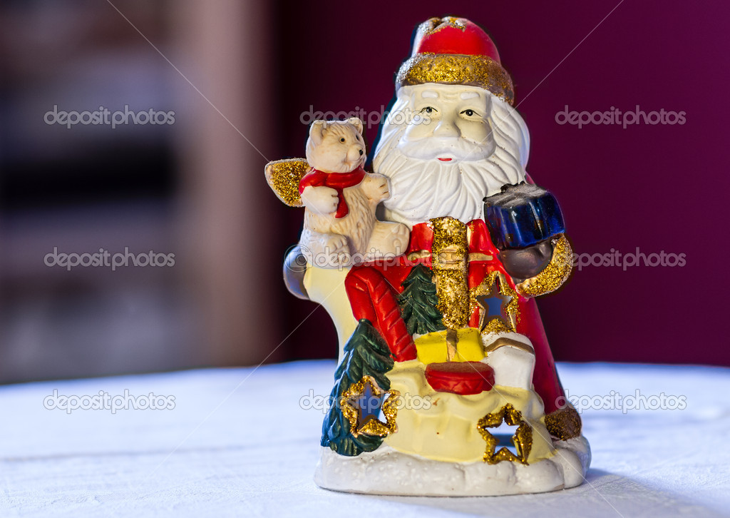 In anticipation of Santa Claus — Stock Photo #17388951