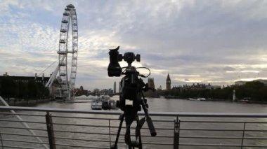 London eye — Vídeo de stock