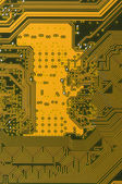 Circuit board digitals — Stock Photo
