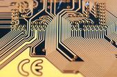 Circuit board digital — Stock Photo