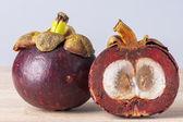 Garcinia mangostana — Stock Photo
