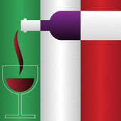 Wine of Italy — Stock Vector