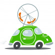 Environmentally friendly transport — Image vectorielle