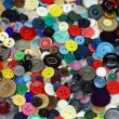 Vintage buttons as colors background — Stock Photo