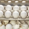 Royalty-Free Stock Photo: Safe and broken eggs