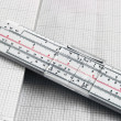 Slide rule — Stockfoto