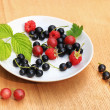 Stock Photo: Garden berries