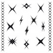 Royalty-Free Stock Vektorgrafik: Patterns of ornament tattoo