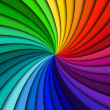 Colorful rainbow swirl — Stock Vector