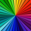 Abstract color background spectrum lines — 图库矢量图片