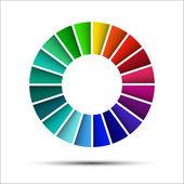 Color palette — Stock Vector