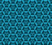Resumen de fondo de color, azul triángulos — Vector de stock
