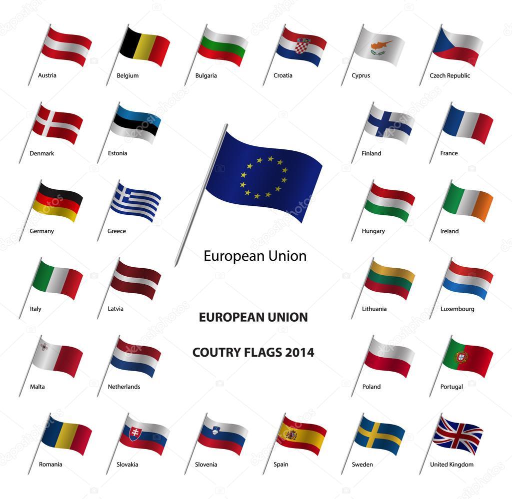 2014 avrupa birliği 252lke bayrakları � stok vekt246r 169 kurka