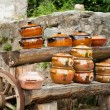Traditional ceramic pots — Stock Photo