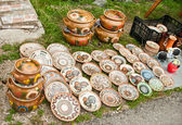 Traditional ceramics pots — Stockfoto