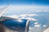 Ventana de avión — Foto de Stock