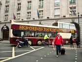 Tourist in London — Stock Photo