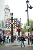 The Swiss Glockenspiel in Leicester Square — Stock Photo