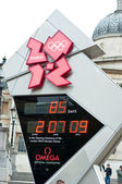 London Olympics Countdown Clock — Stock Photo