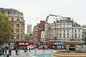 Trafalgar Square in London, UK — Stock Photo