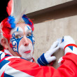 London clown — Stock Photo