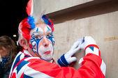 London-clown — Stockfoto