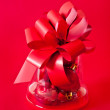 Red Christmas Gift — Stock Photo #16697875