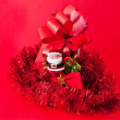 Christmas red ornaments — Stock Photo #16697881