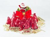 Ornamental Christmas bells — Stock Photo