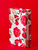 Valentine Gift Bag — Stock Photo